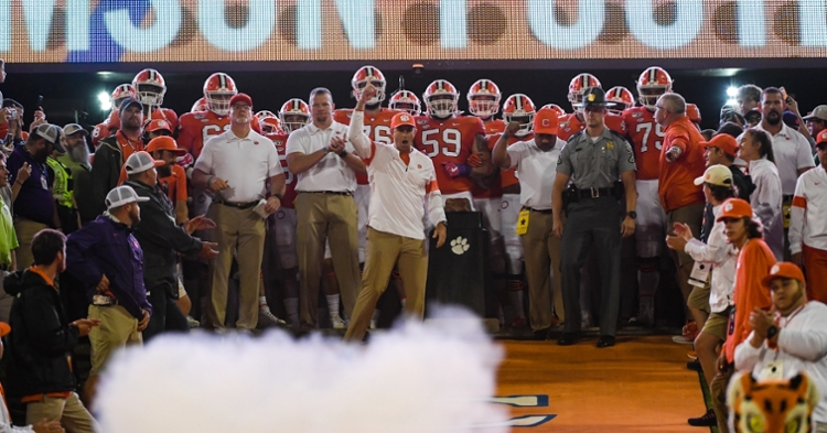 New Clemson football, ACC fall schedule released