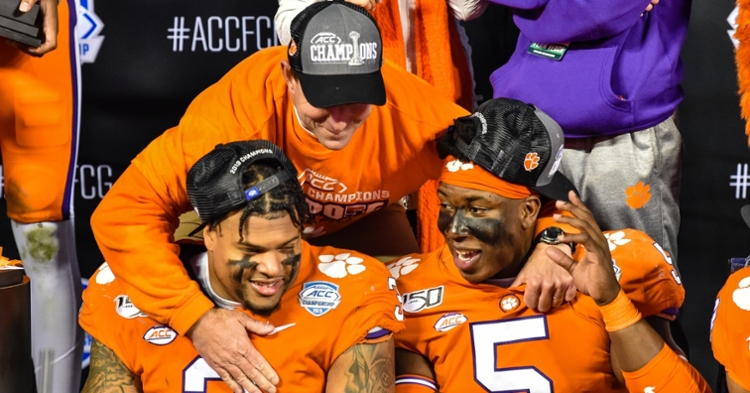 Dabo Swinney knows the best way to affect change is through his players.