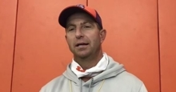 Wednesday Night Practice Notes: Swinney keeps watering the bamboo