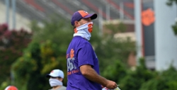 Swinney can't hide his smile after scrimmage in Death Valley