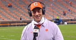 WATCH: ESPN Postgame interview with Dabo Swinney