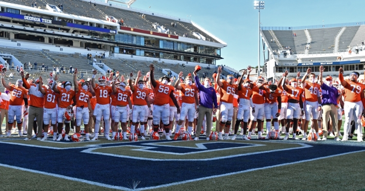 Almost everybody got in the action Saturday. (ACC photo)