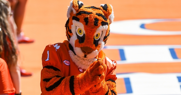 Clemson's mascot is very beloved by Tiger fans