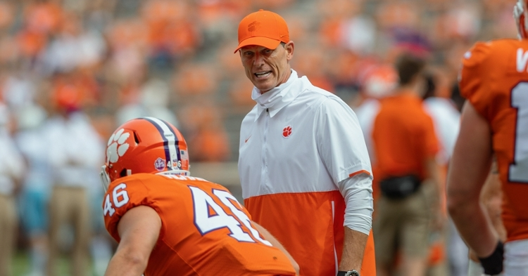 Venables says Virginia will present a challenge (Photo per ACC).