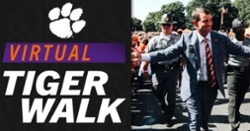 Clemson offering 'Virtual Tiger Walk' for pregame