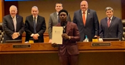 Sammy Watkins honored with 'Sammy Watkins Day' in Lee County