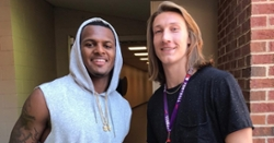Dabo Swinney compares Deshaun Watson and Trevor Lawrence in candid comments