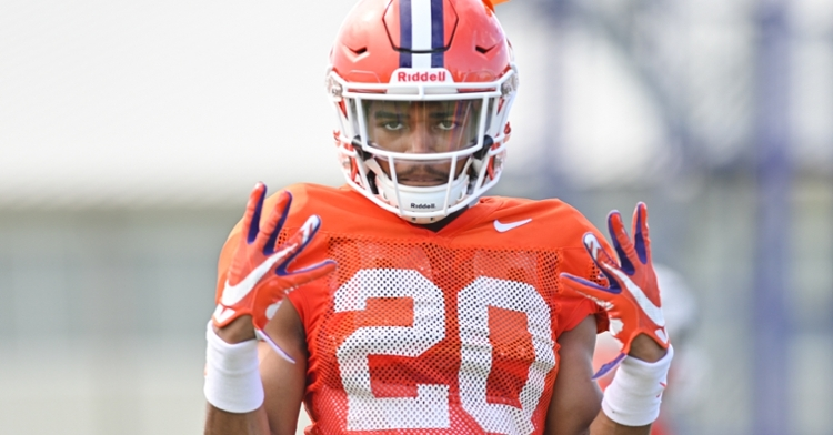 Williams looks to make an impact in 2020. (Photo per Clemson athletics)