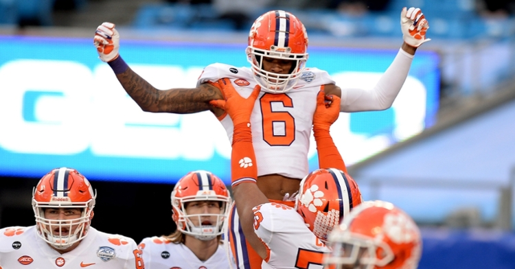 Clemson routed Notre Dame 34-10 in the 2020 ACC title game