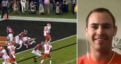 WATCH: Hunter Renfrow relives game-winning title catch on SportsCenter