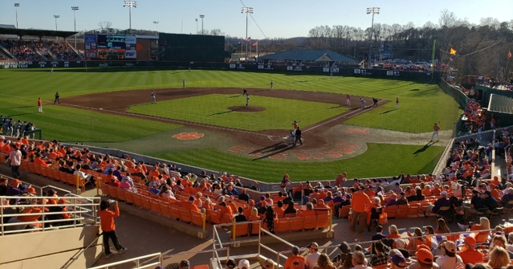 Clemson baseball swept Liberty this past weekend, and the weather Friday was gorgeous