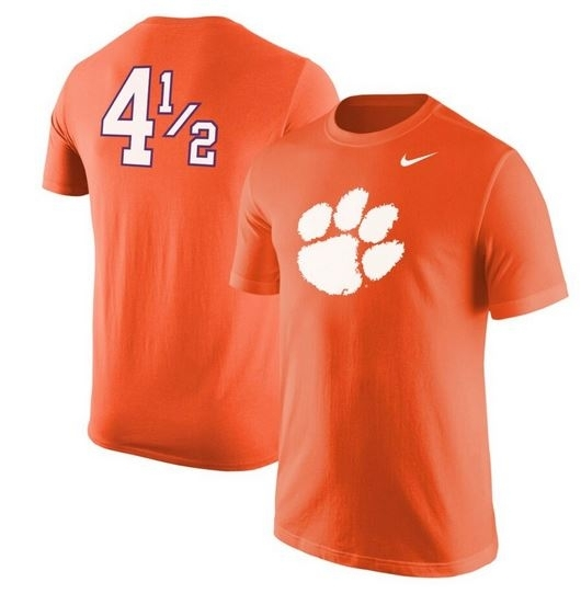 JUST RELEASED: Clemson '4 1/2' Nike shirt inspired by Disney movie ...