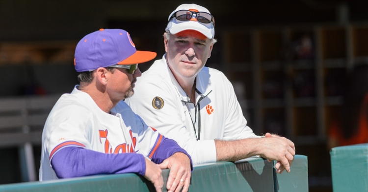 Clemson's AD says he is pleased with basketball program and awaits word on scholarship situation. (Photo: Jeremy Brevard / USATODAY)