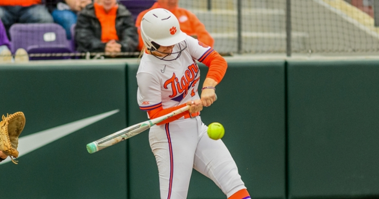 Goodwin's home run pushed the Tigers ahead in extras.