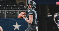 Texas quarterback staying in touch with the Tigers