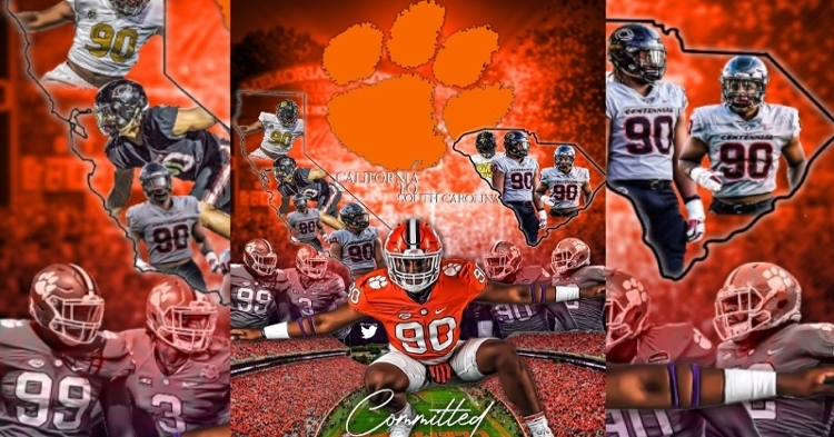 Clemson has had a No. 1-rated player commit in three of the last four classes.