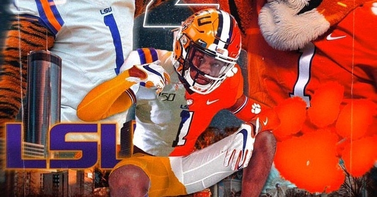 Gee has narrowed his list to Clemson and LSU