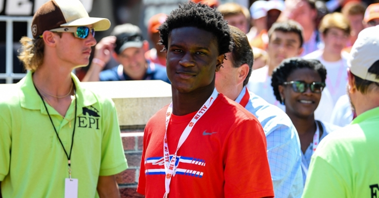 Lassiter visited Clemson for a game last season and camped last summer.