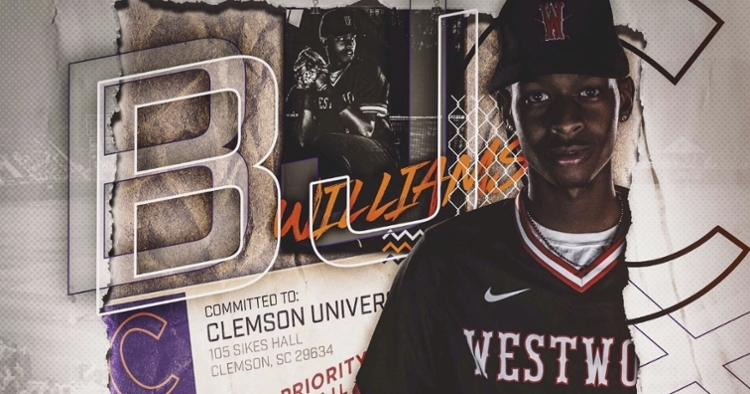 Williams committed to Clemson earlier this week.