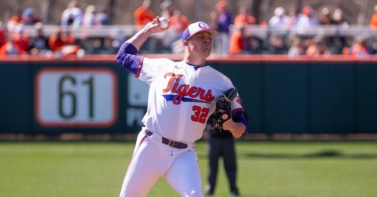 Clemson has had success on Friday nights this season, but it is seeking a first road series opener win since April 2. (Clemson athletics photo)