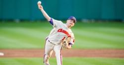 Former Clemson RHP makes MLB debut