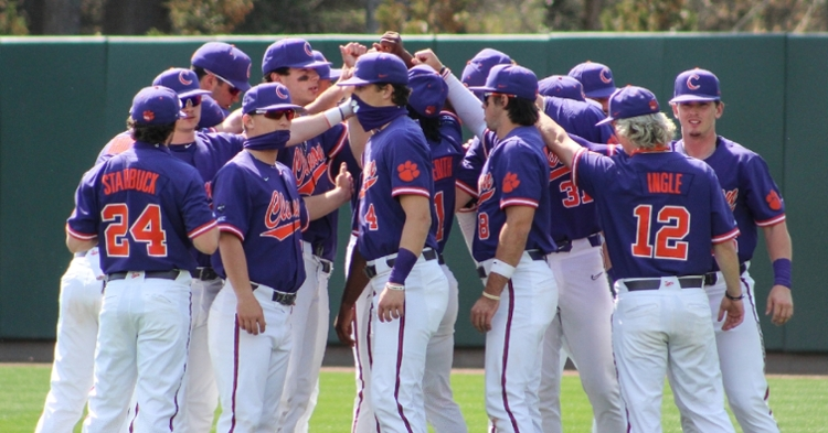 Clemson's losing streak extended to six games and 7-of-the-last-8 on the weekend. (Clemson athletics photo)