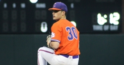 Clemson pitcher signs with MLB team