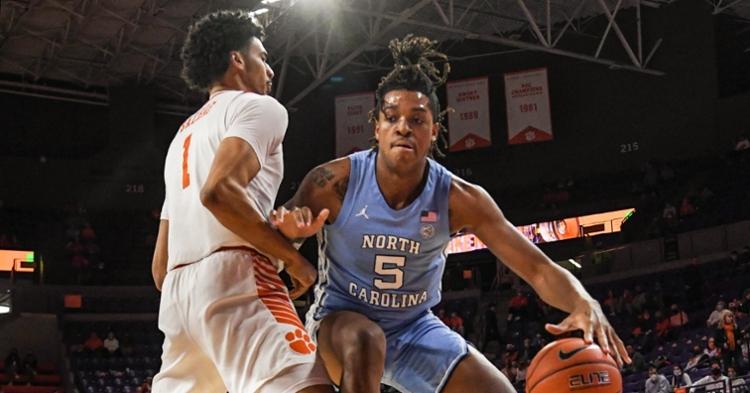 Clemson defeated North Carolina 63-50 Tuesday night. (Photo courtesy ACC)