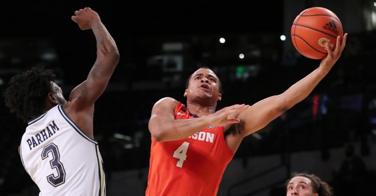 Clemson will likely fall out of the top-25 if they fall at FSU Saturday, leaving some ground to make up down the stretch (ACC photo).