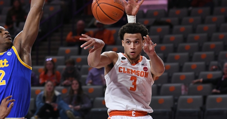 Clemson's tournament road begins in Bankers Life Fieldhouse. (ACC photo)