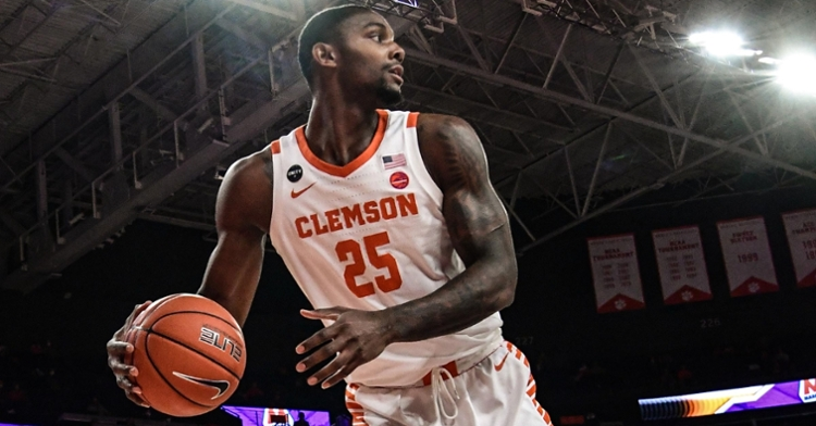 Simms is in contention for first-team All-ACC honors. (Photo courtesy ACC)
