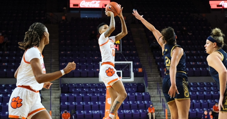 Delicia Washington had a career-tying 33 points in the overtime loss