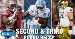 WATCH: ACC draft recap in second and third round