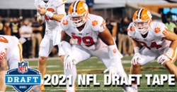 WATCH: Jackson Carman NFL draft tape