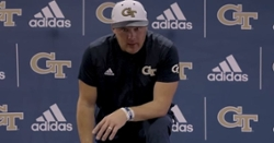 WATCH: GT head coach Geoff Collins reacts to loss to Clemson