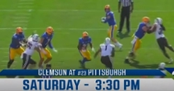 WATCH: Game preview of Clemson-Pittsburgh