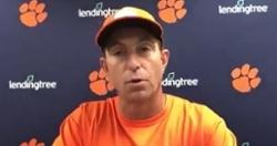 WATCH: Dabo Swinney reacts to Clemson's loss at Pitt