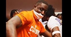 WATCH: Clemson dances in locker room after win over Georgia Tech