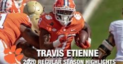 WATCH: Travis Etienne 2020 season highlights