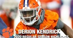 WATCH: Derion Kendrick 2020 season highlights