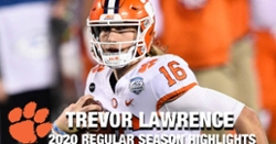 WATCH: Trevor Lawrence 2020 season highlights