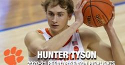 WATCH: Hunter Tyson 2020-2021 regular season highlights