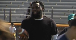 WATCH: Wilkins heads home to bring along next generation in football