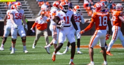 Clemson spring game takeaways: Depth building on lines, sophomore WR stands out