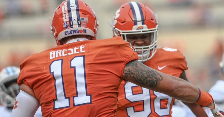 Bresee and Murphy should be fixtures on Clemson's defense in the coming seasons. (ACC photo)