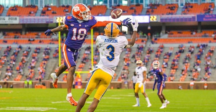 Charleston made six starts last year. (ACC photo)