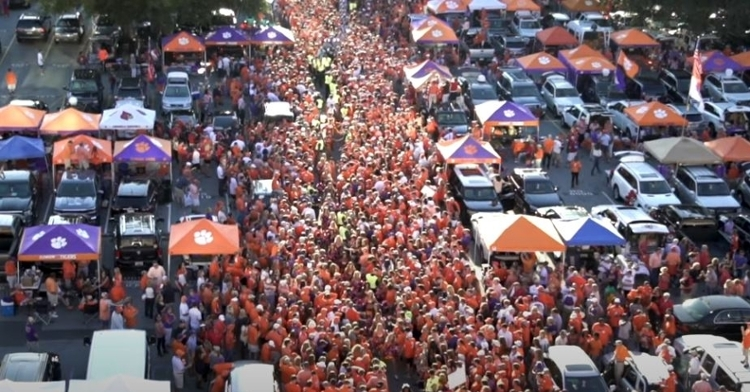 Clemson hopes to have Death Valley rockin' this fall