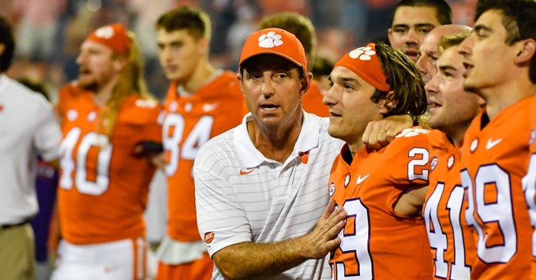 Clemson should stay in the top-25, but it may not move up.