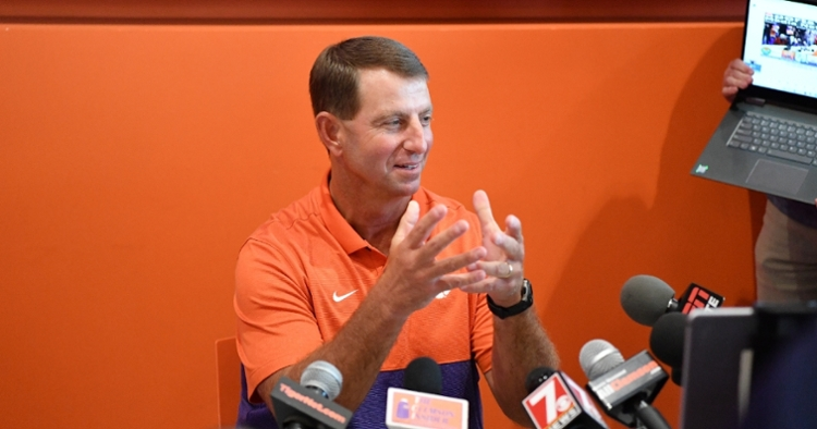Swinney says he and players aren't a fan of the bigger Playoff proposed.