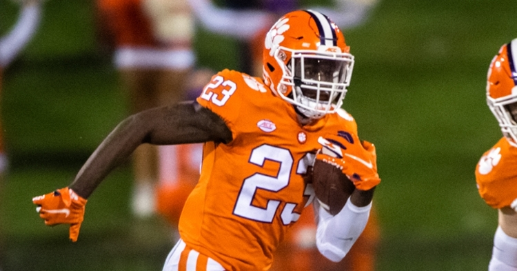Dixon has five carries over two games for 37 yards and a 14-yard TD catch.